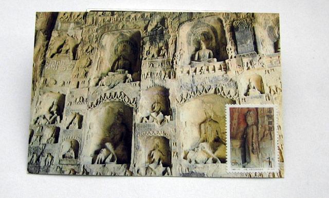 龙门石窟 古阳洞