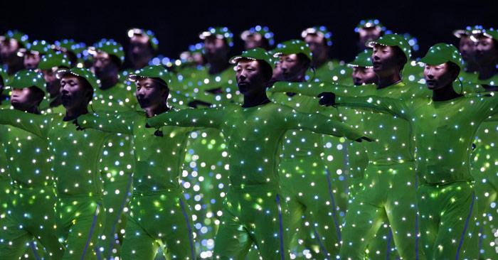 北京奥运会开幕式图片