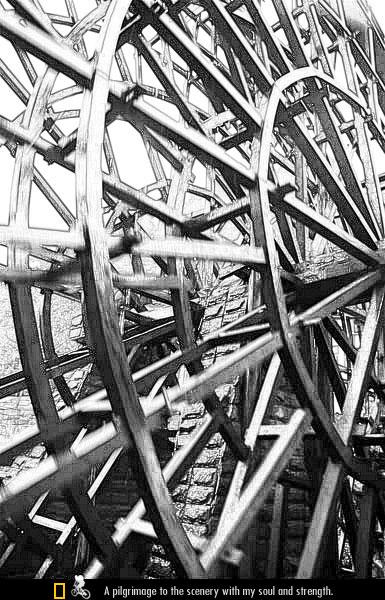 上里古镇 水车