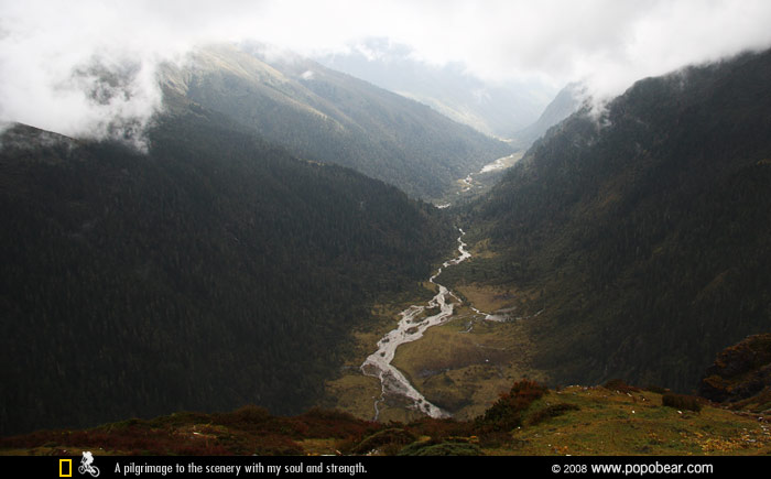 峡谷和河流